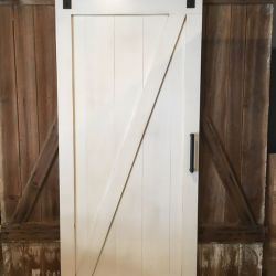 Z Barn Door Made in Poplar Wood Furniture From the Barn Barn