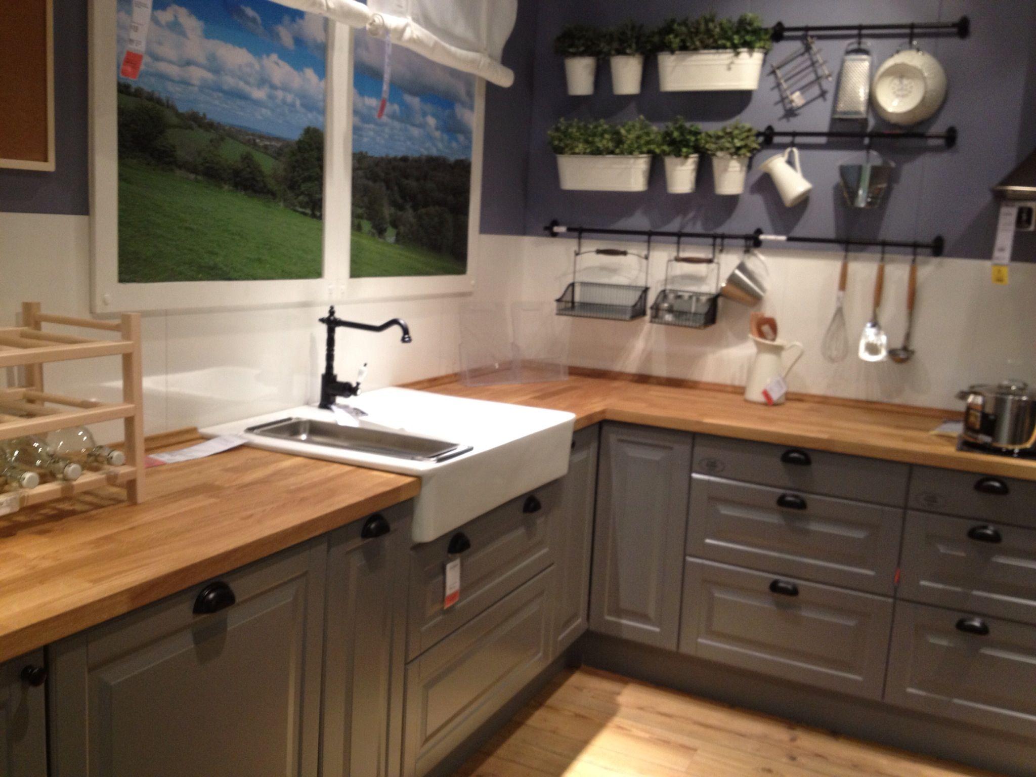 cuisine bodyn ikea kitchen countertops Ikea grey kitchen