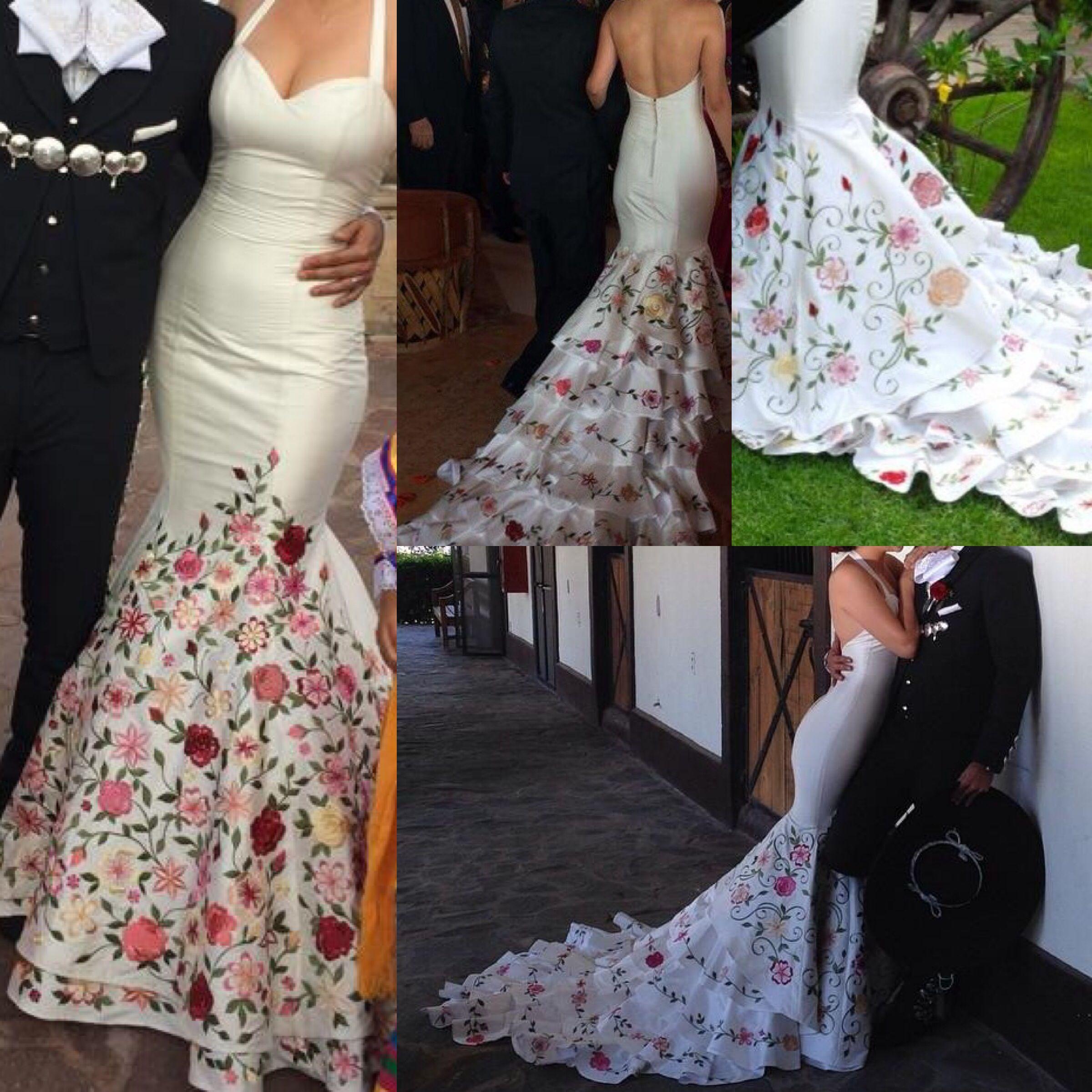 mexican wedding dress Ana patricias wedding dress Beautiful simple unique