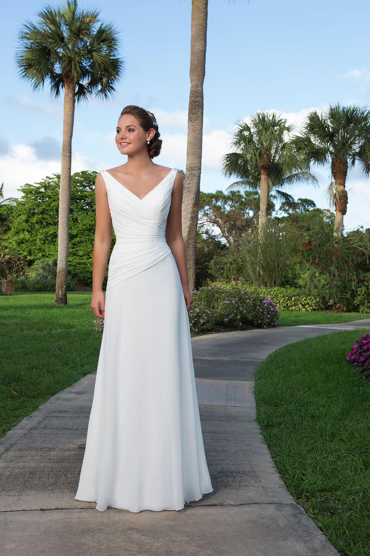beach wedding dress Sweetheart beach wedding dress