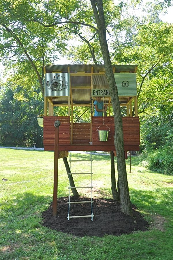 Unique Simple Tree House Ideas For Kids And Modern Designs Freshnist With Beautiful