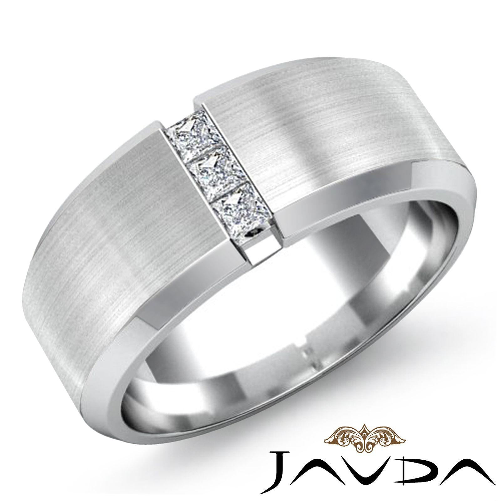 unique wedding band sets Bold Bands Unique Mens Wedding Rings