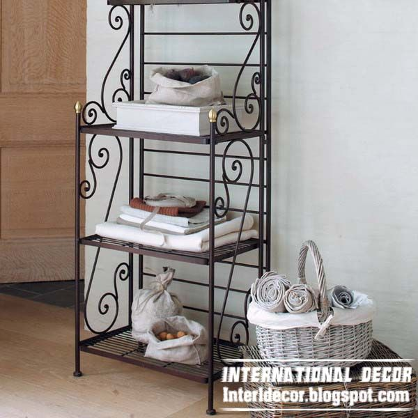 iron shelves wrought forged furniture designs rot 0