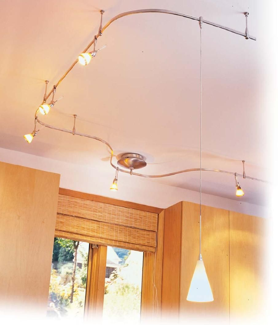kitchen track lighting Paul Ryan of the DIY Network suggests using flexible track lighting to meet the high standards in today s kitchen lighting requirements and for ease of