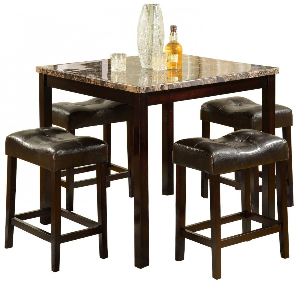 granite top kitchen table Furniture High Top Dining Room Inspiration Table Sets Best Four Wooden Bar Stool With Brown Leather