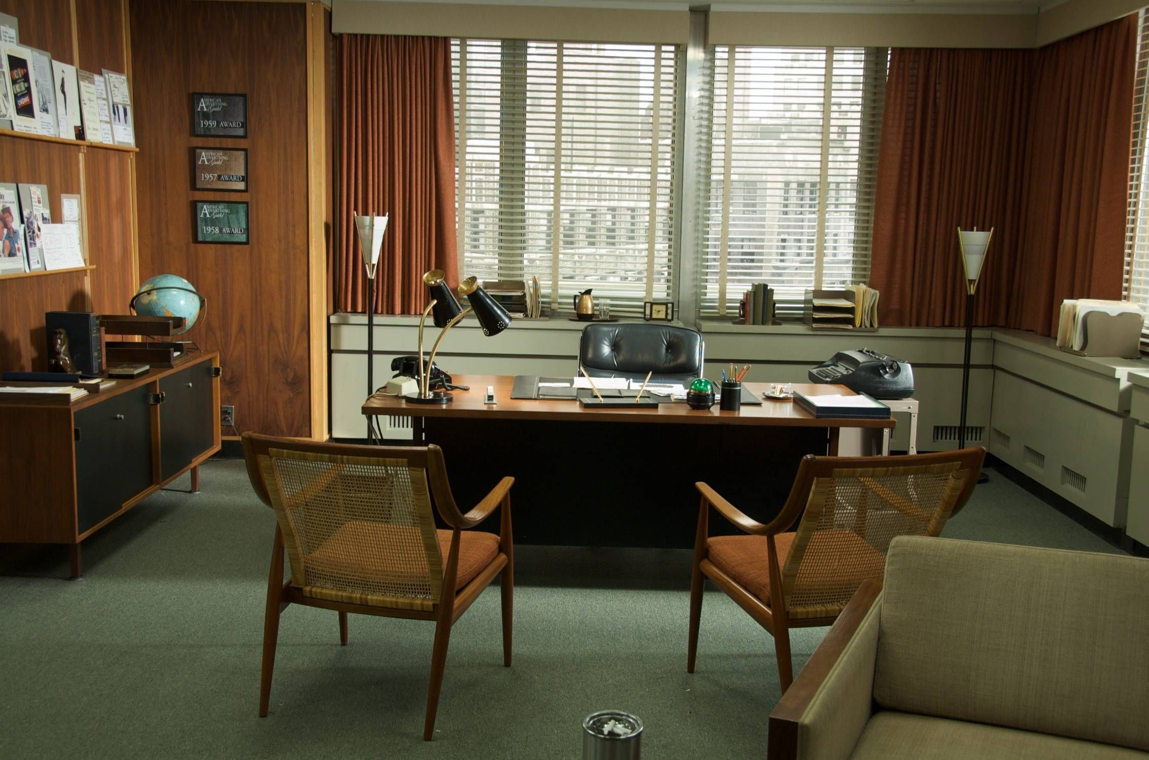 achieving a mad men theme in your home office furniture 7