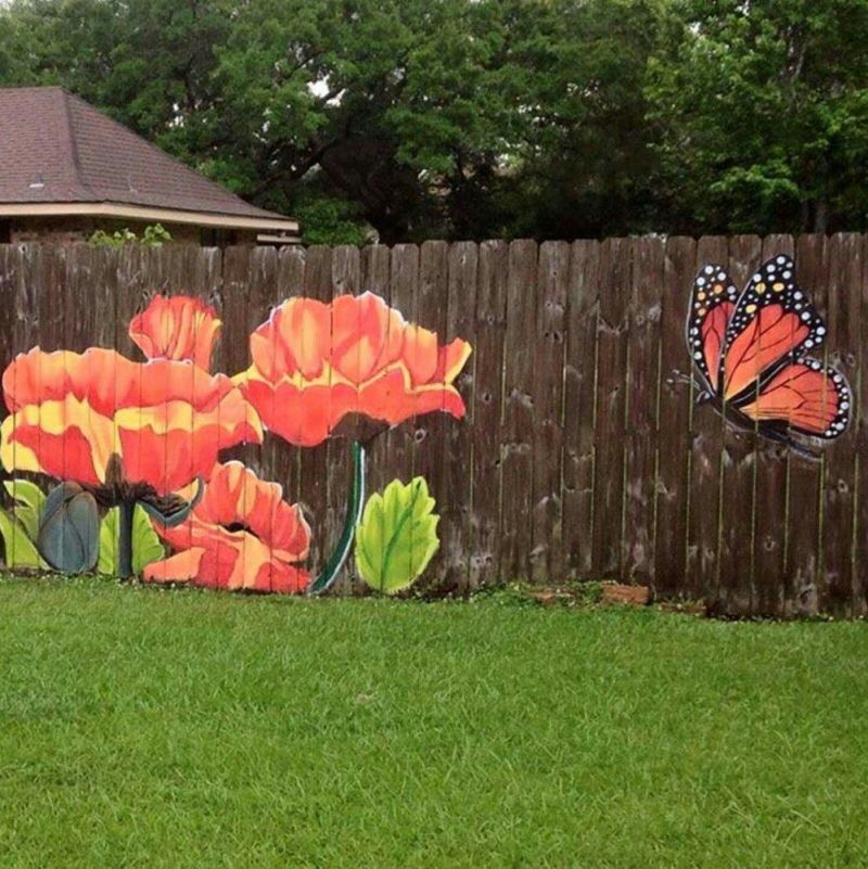 Large Of Diy Fence Garden