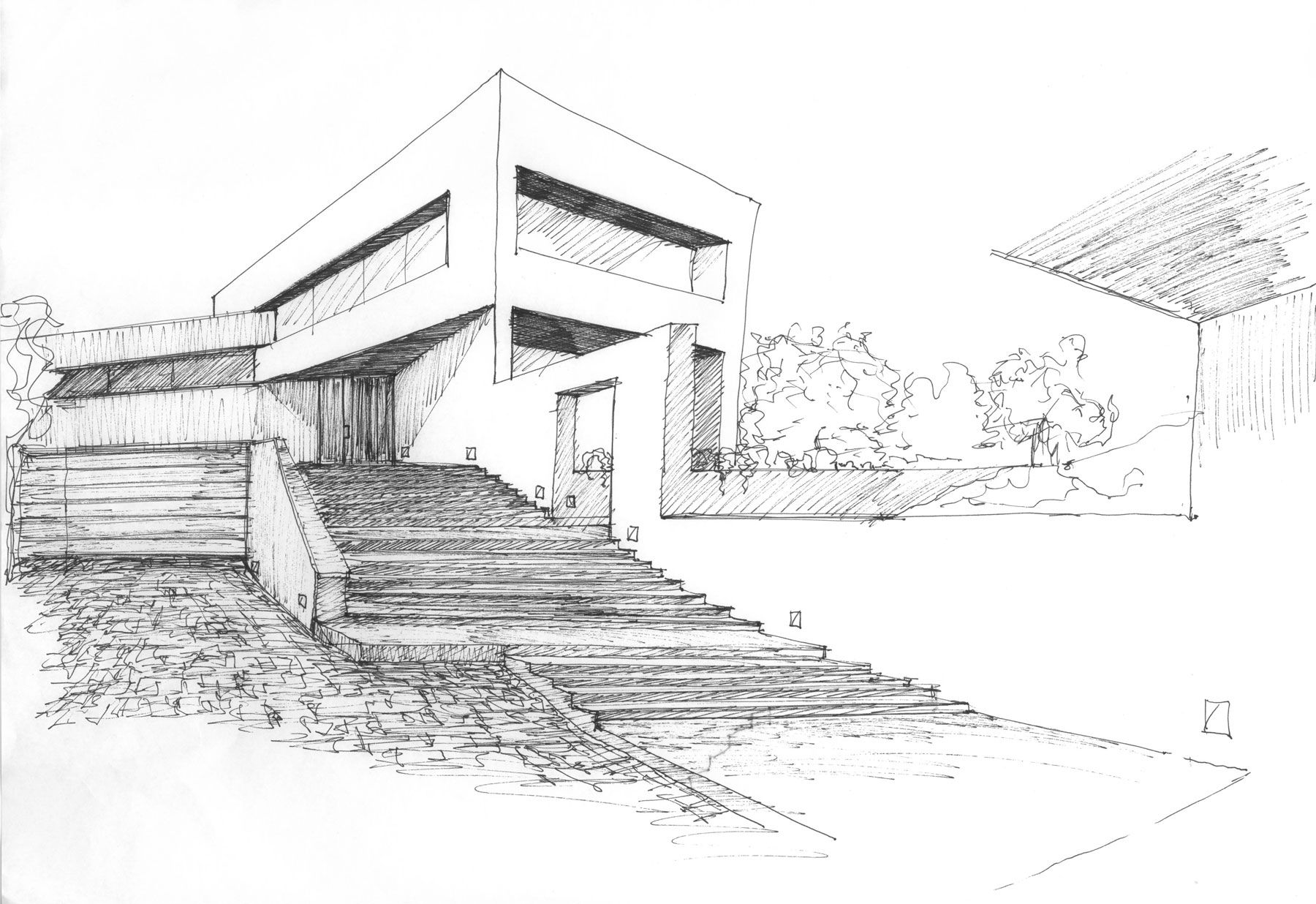 Architecture Design Sketches Sketch O And Decorating Ideas
