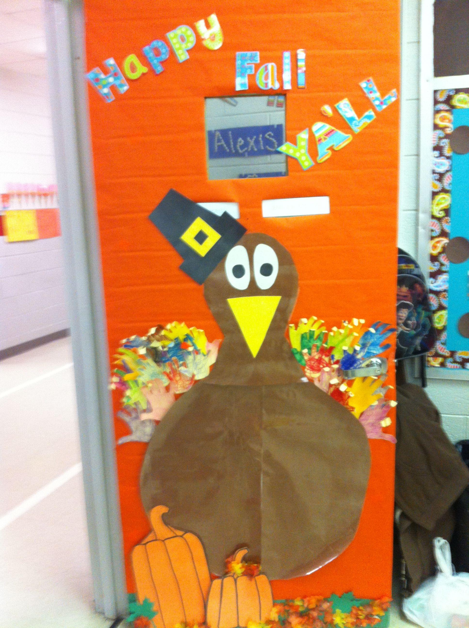 Fullsize Of Thanksgiving Door Decorations