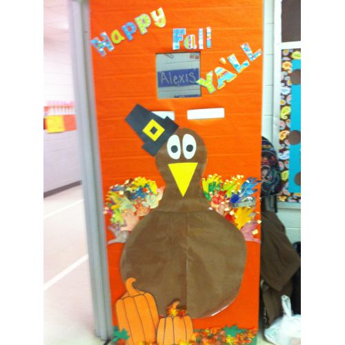 Medium Crop Of Thanksgiving Door Decorations