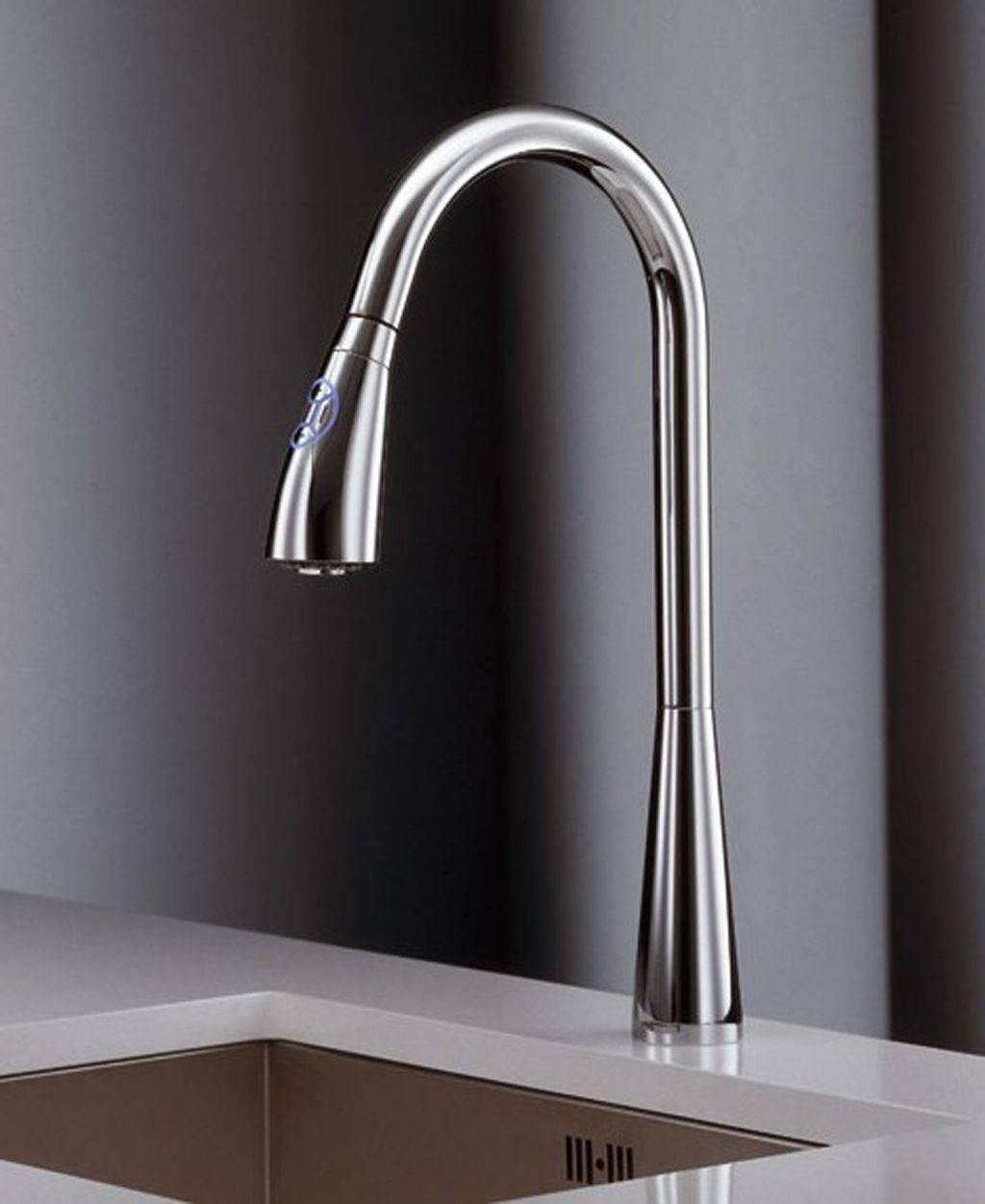 modern kitchen faucets The Modern Kitchen Faucets is minimalist and pure design with sometimes daring combinations