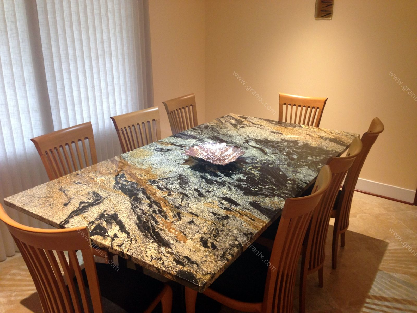 different ideas for granite table top granite top kitchen table Granite Kitchen Tables 3
