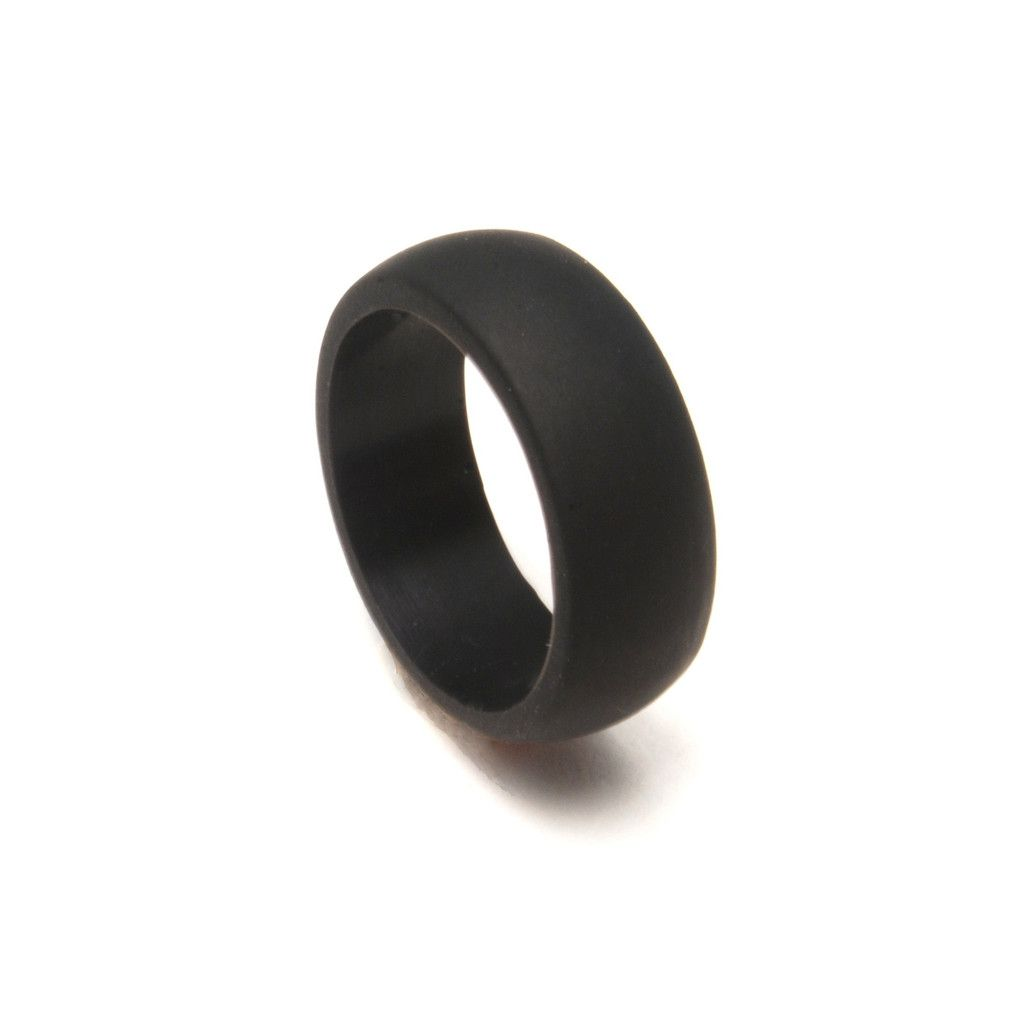 rubber wedding rings QALO Rings are comfortable wedding bands for an active lifestyle and dangerous jobs Bought Patrick
