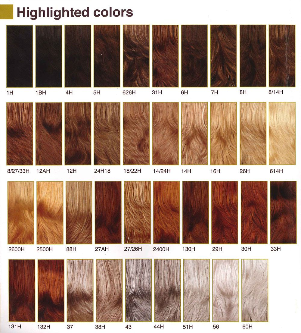 Dark red brown hair color samples