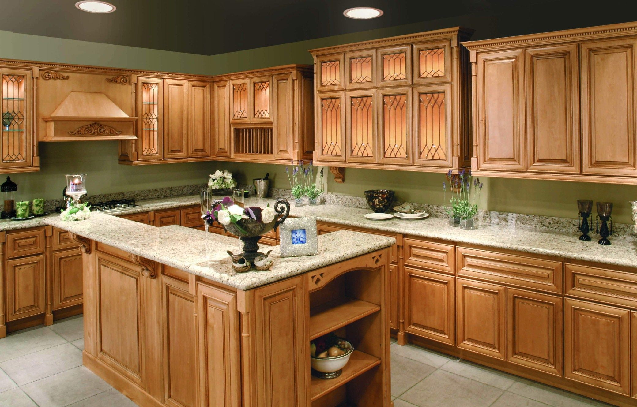 quartz kitchen countertops Kitchen Quartz Countertops With Oak Cabinets Cabinets With White Quartz
