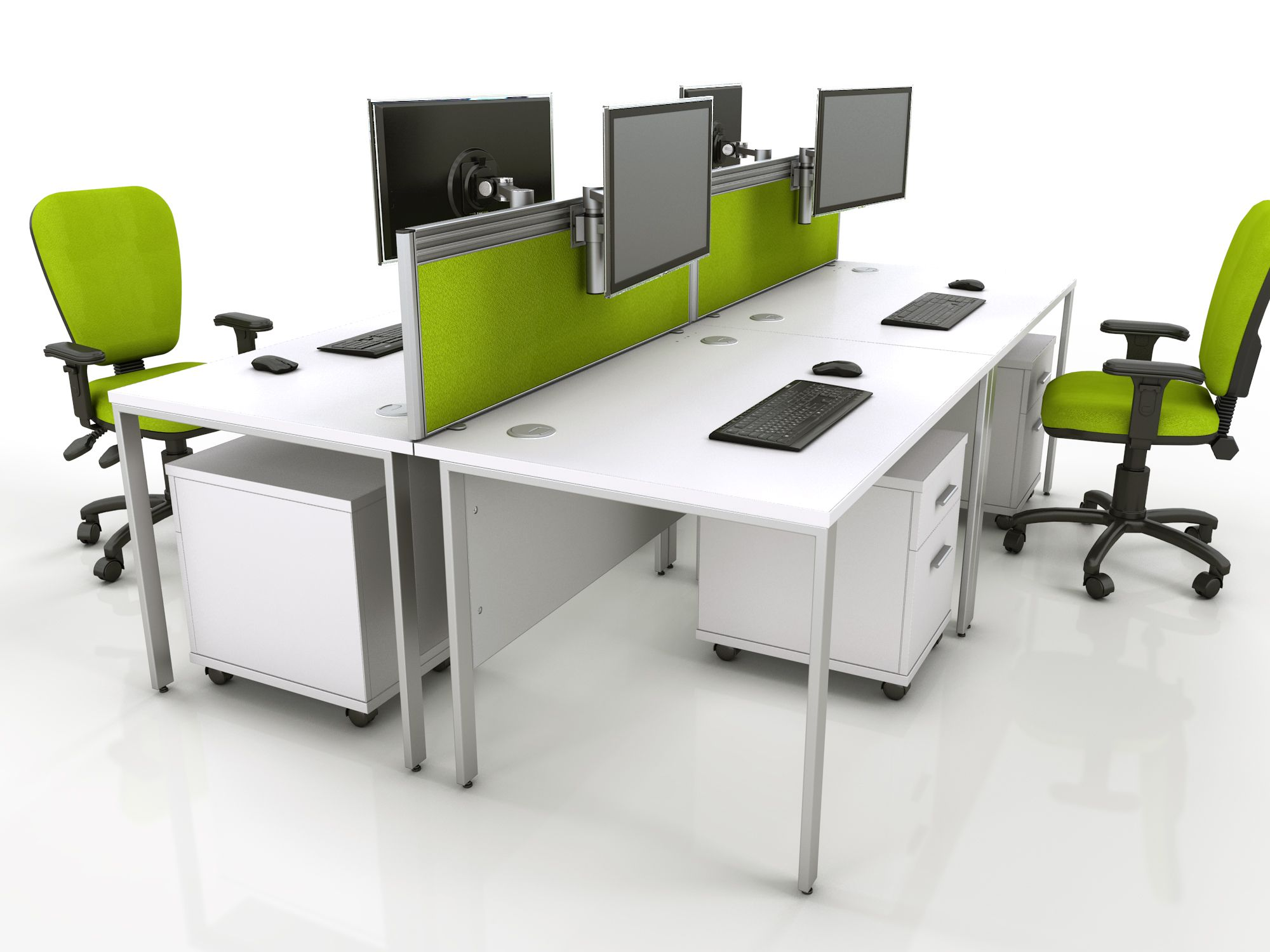 x white bench desk with cable access ports from the uku0027s leading discount office furniture supplier desks storage e