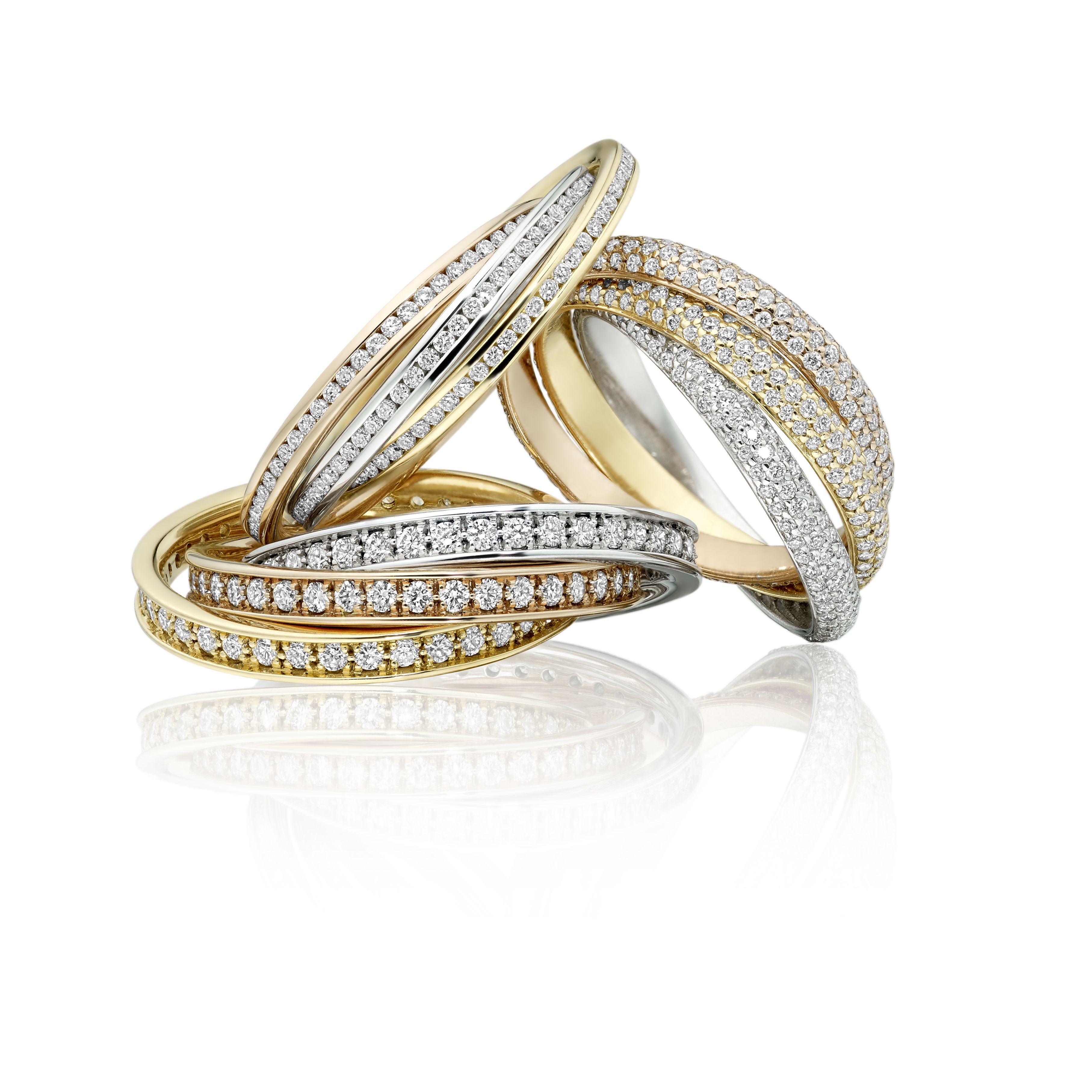 russian wedding ring Russian wedding rings set with diamonds by Michael Frank Jewellers Jewellers We can make these