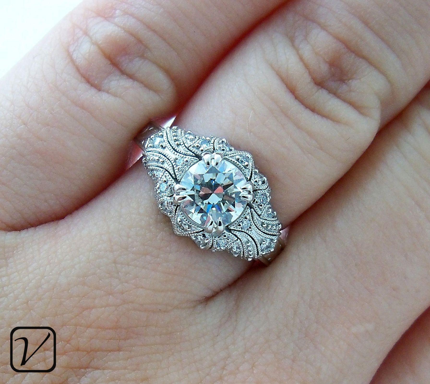 vintage wedding bands Wedding Rings Elegant Vintage Wedding Ring Emotional Vintage Ring Treasured Vintage Style Engagement Rings As Beautiful As The Day You Met