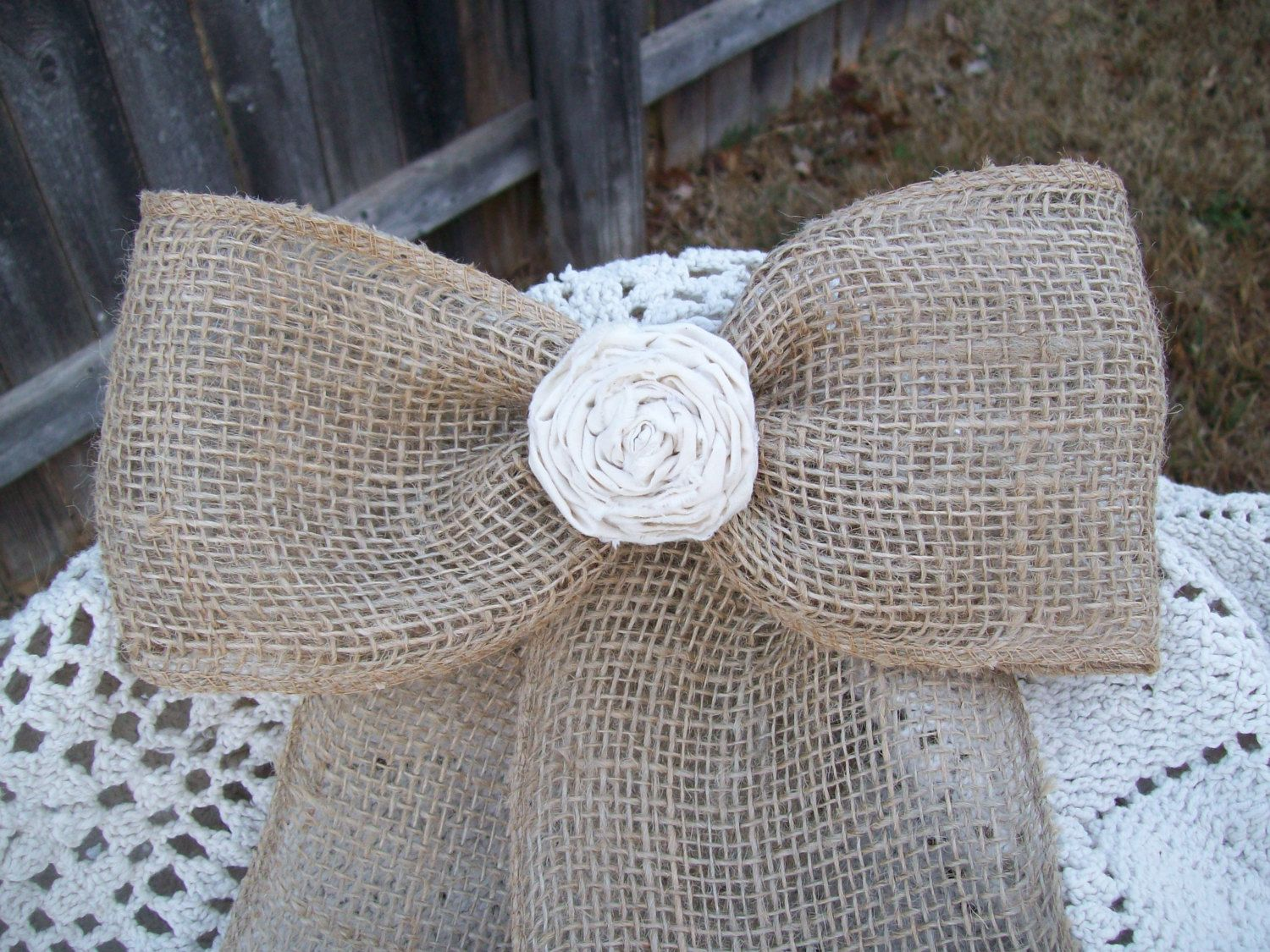 burlap lime green wedding country wedding decorations Rustic Country Wedding Decor
