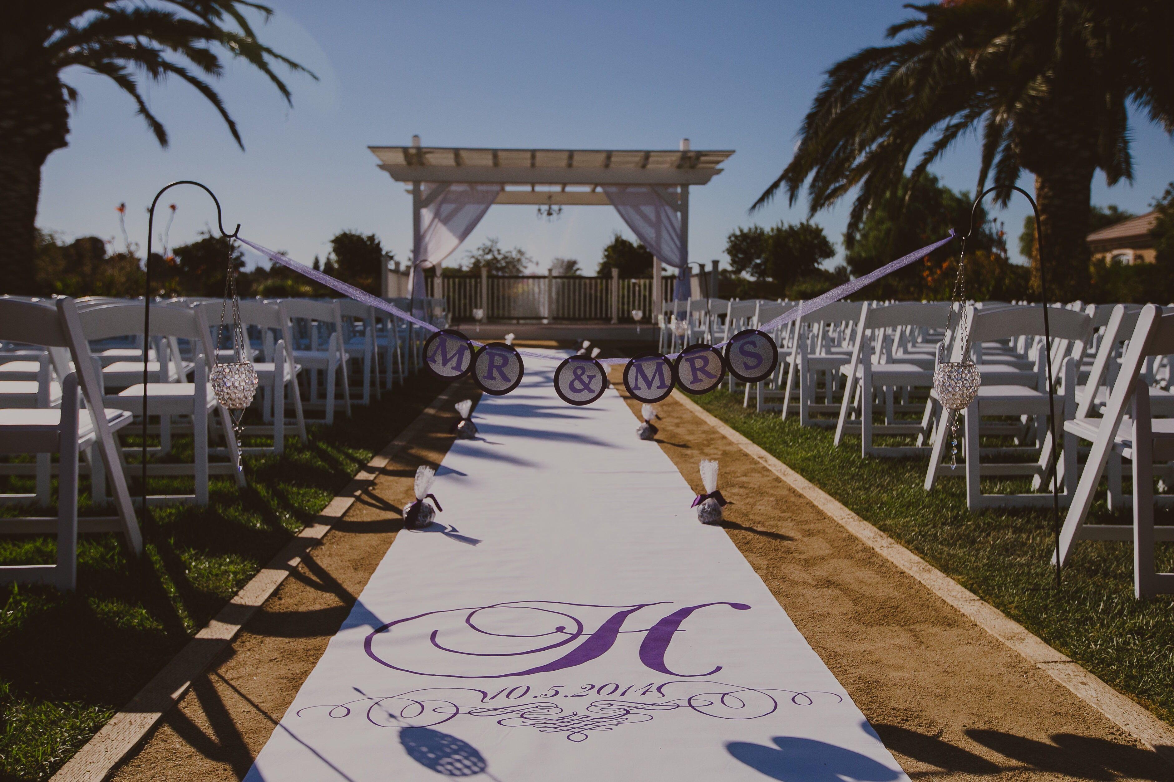 wedding runners 50ft wedding runner by I Do Aisle Runners Tampa Fl October wedding