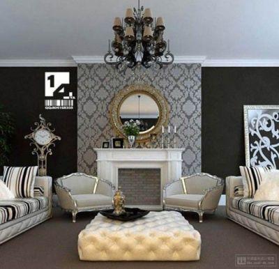 Best 25+ Wallpaper fireplace ideas on Pinterest | Living room fireplace wallpaper, Chimney ...