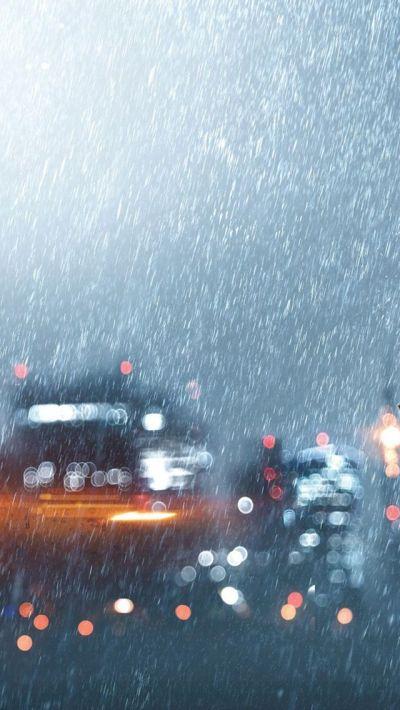 Heavy downpour #iPhone #5s #Wallpaper | http://www ...