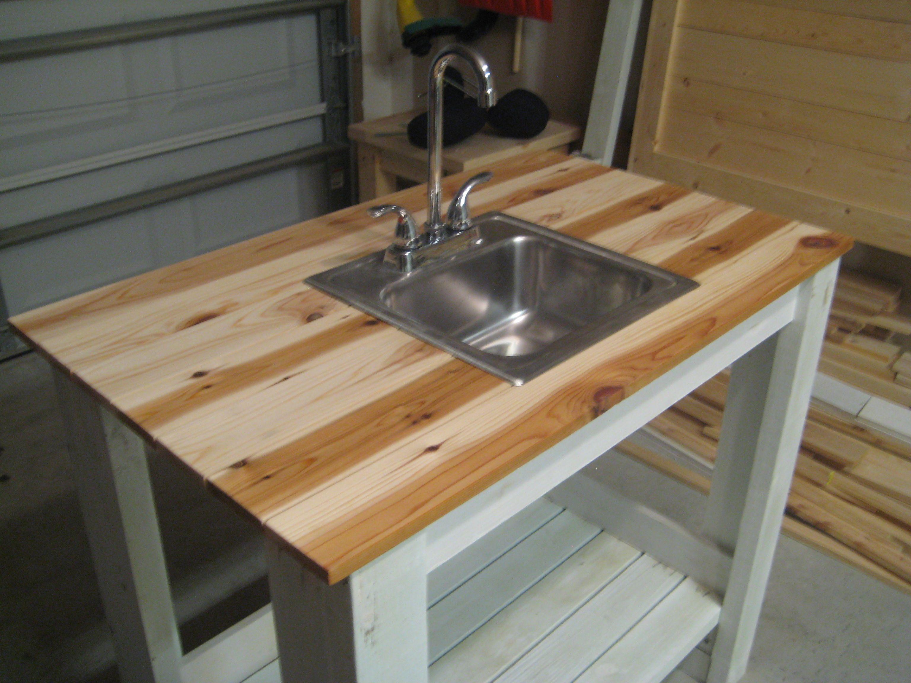 outdoor kitchen sink outdoor kitchen with sink My Simple Outdoor Sink