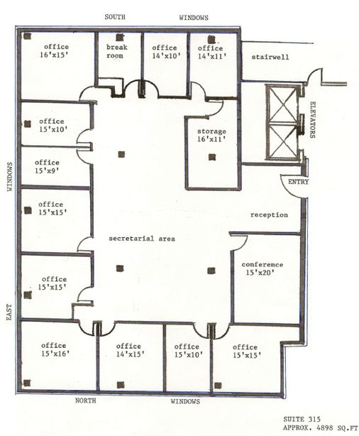 Office Floor Plan Template. Network Concepts Office Floor Plan