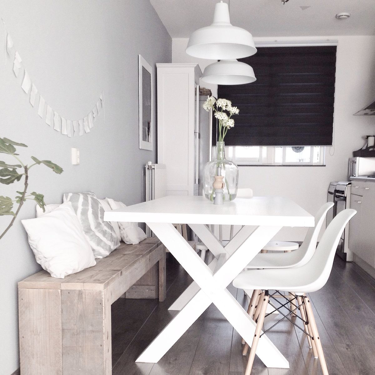 white kitchen tables Dining