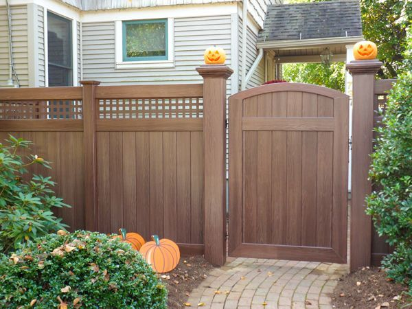 Fine Vinyl Privacy Fence Ideas Outdoor Chalkboard On White For Decor