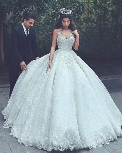 lace wedding gowns,princess wedding dress,ball gowns ...