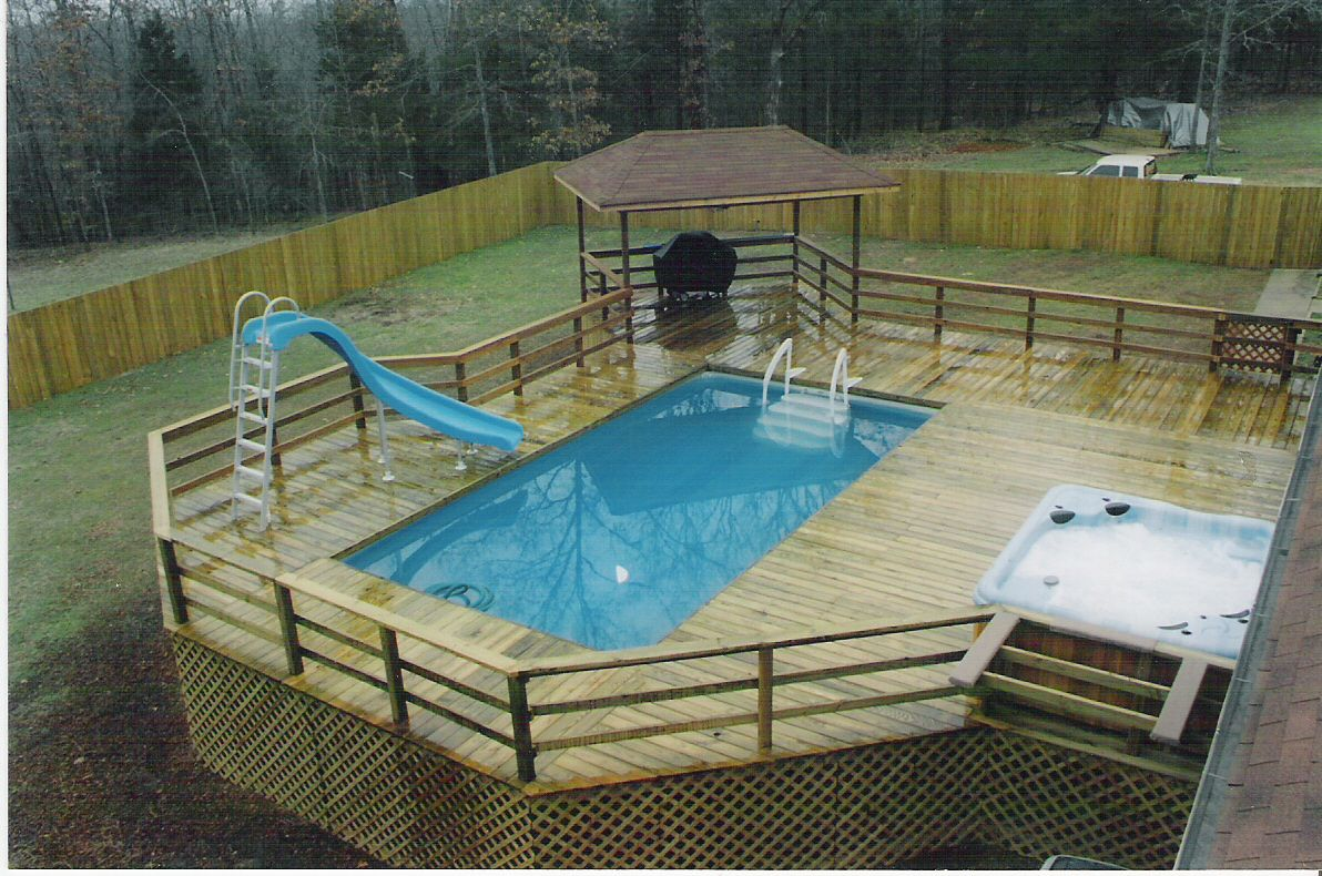 above ground pool and deck packages posted in portable pool deck photos permalink