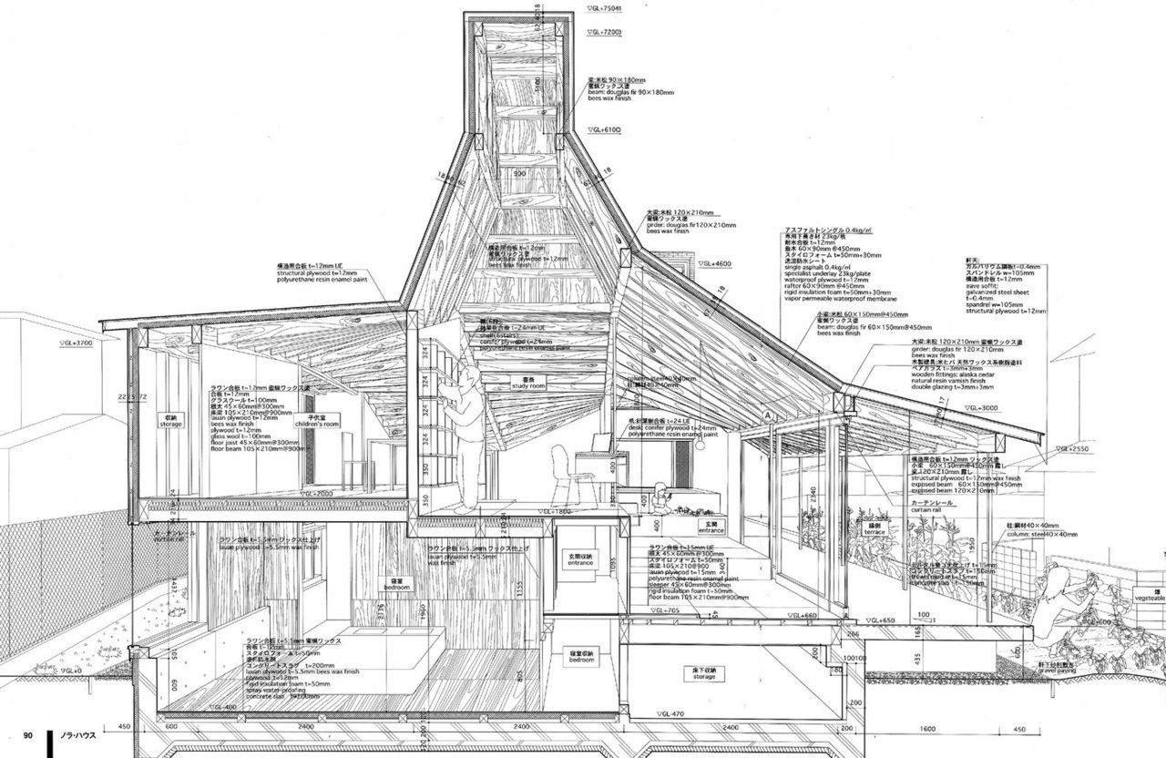 Architect House Drawings R