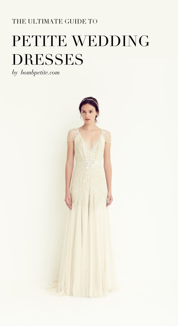 wedding dresses for petite The ultimate guide to petite wedding dresses BombPetite com