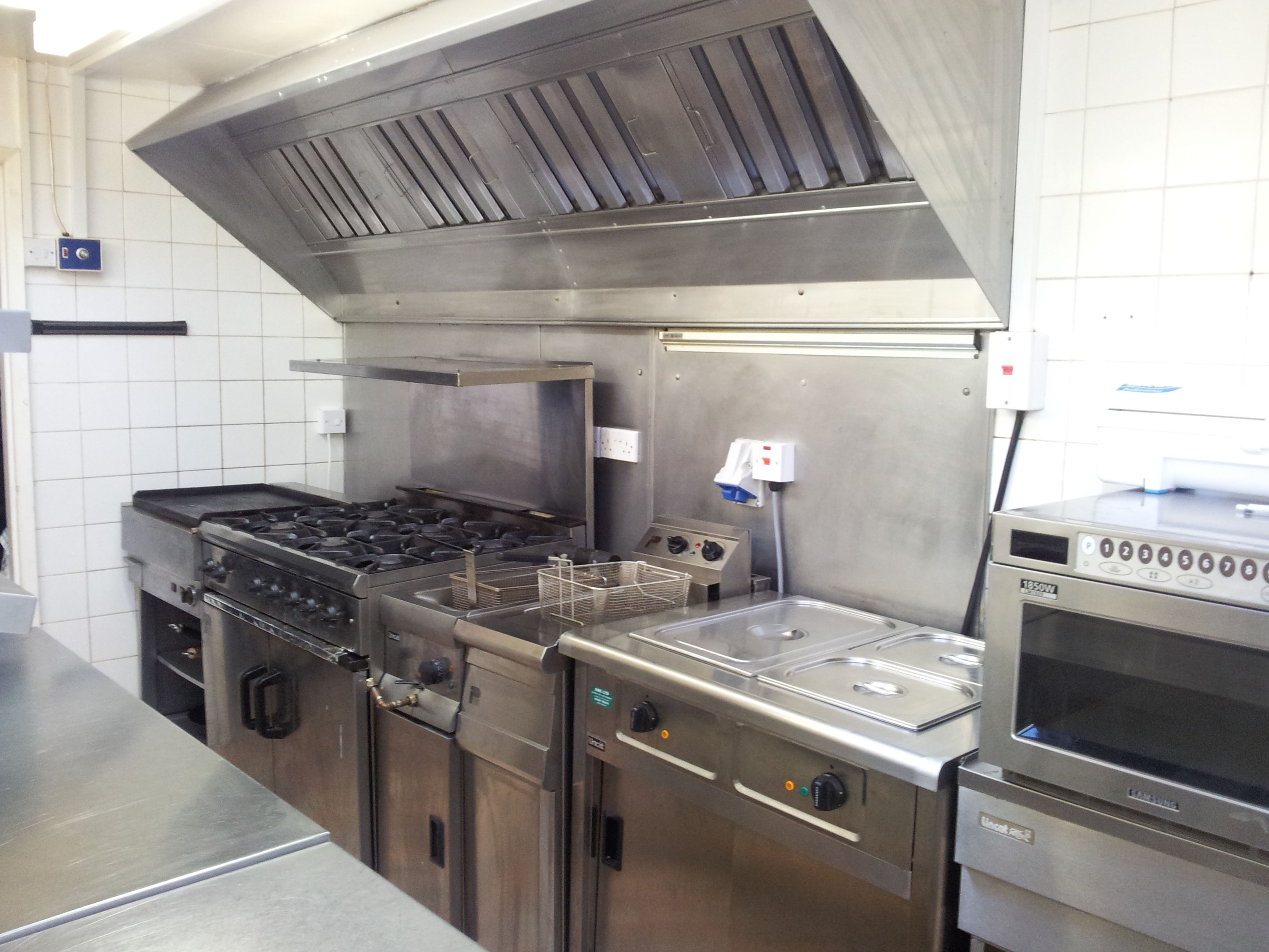 commercial kitchen design Small Golf Club Commercial Kitchen