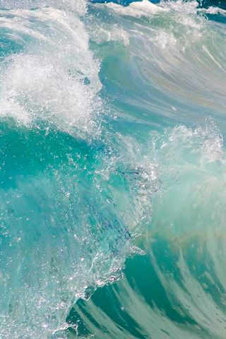 Hd Ocean Wave iphone wallpapers   Blue Wallpaper ...