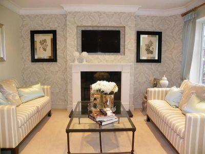 Fresh Wall Wallpaper Living Room | Home Decor Ideas | Pinterest | Wallpaper, Wall wallpaper and ...