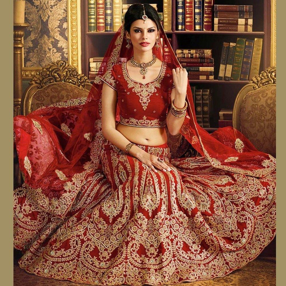 velvet wedding dress Aesthetic Maroon Velvet Bridal Lehenga Choli