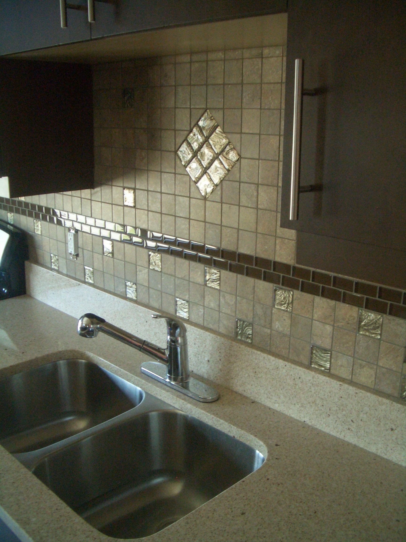 installing kitchen backsplash 4 granite backsplash with tile above recently finished installing a porcelain tile backsplash with
