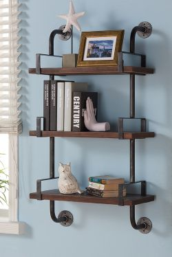 Small Of Hanging Wall Shelves For Bathroom
