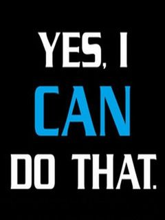 Download free Yes I Can Mobile Wallpaper contributed by mcduffie, Yes I Can Mobile Wallpaper is ...
