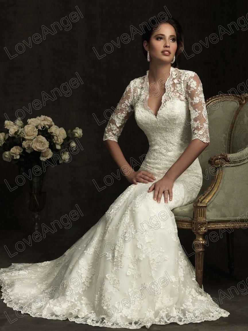 luxury wedding dresses Similar style to Princess Catherine s wedding gown but no lace Hot Sale