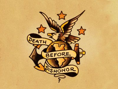 cool military idea. Marines I think? | Pretty things... | Pinterest | Sailor jerry and Tattoo