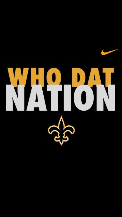 Who Dat Nation iPhone 5 Wallpapers | iphone wallpapers - and all such, patterns colors designs ...