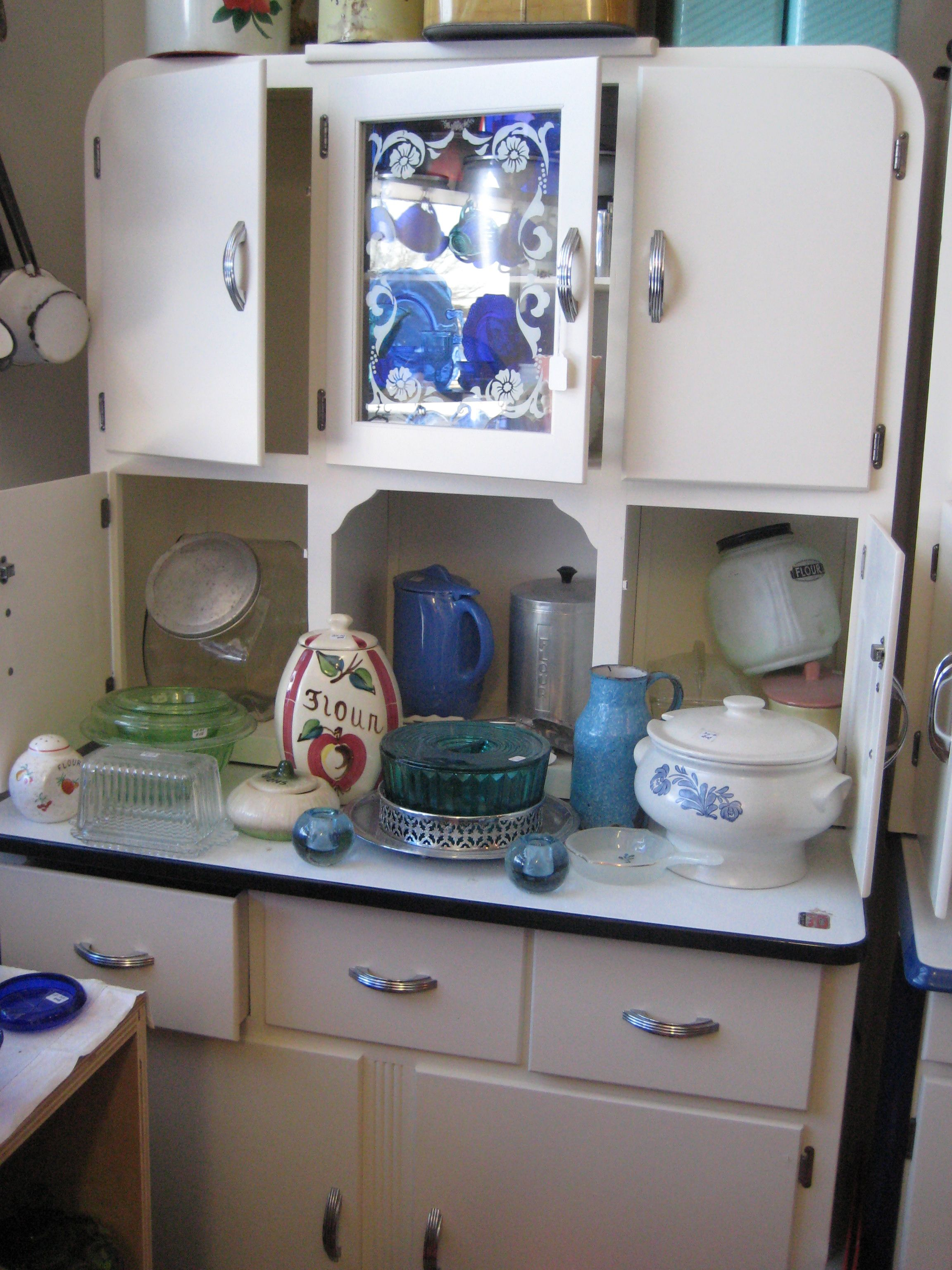 kitchen hutch cabinets This looks very much like the cabinet we had in our kitchen when I was growing up It was there as long as I can remember and was still there when I