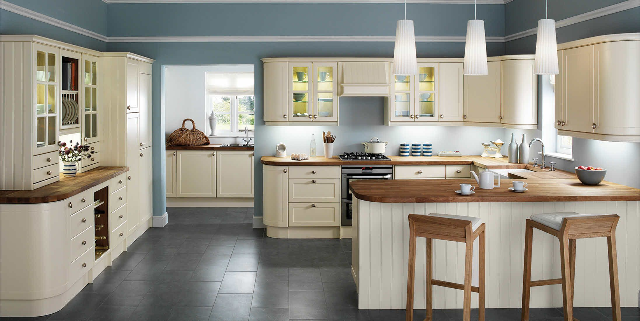 shaker kitchen island Shaker kitchen the most popular style of kitchen this design can instantly create the