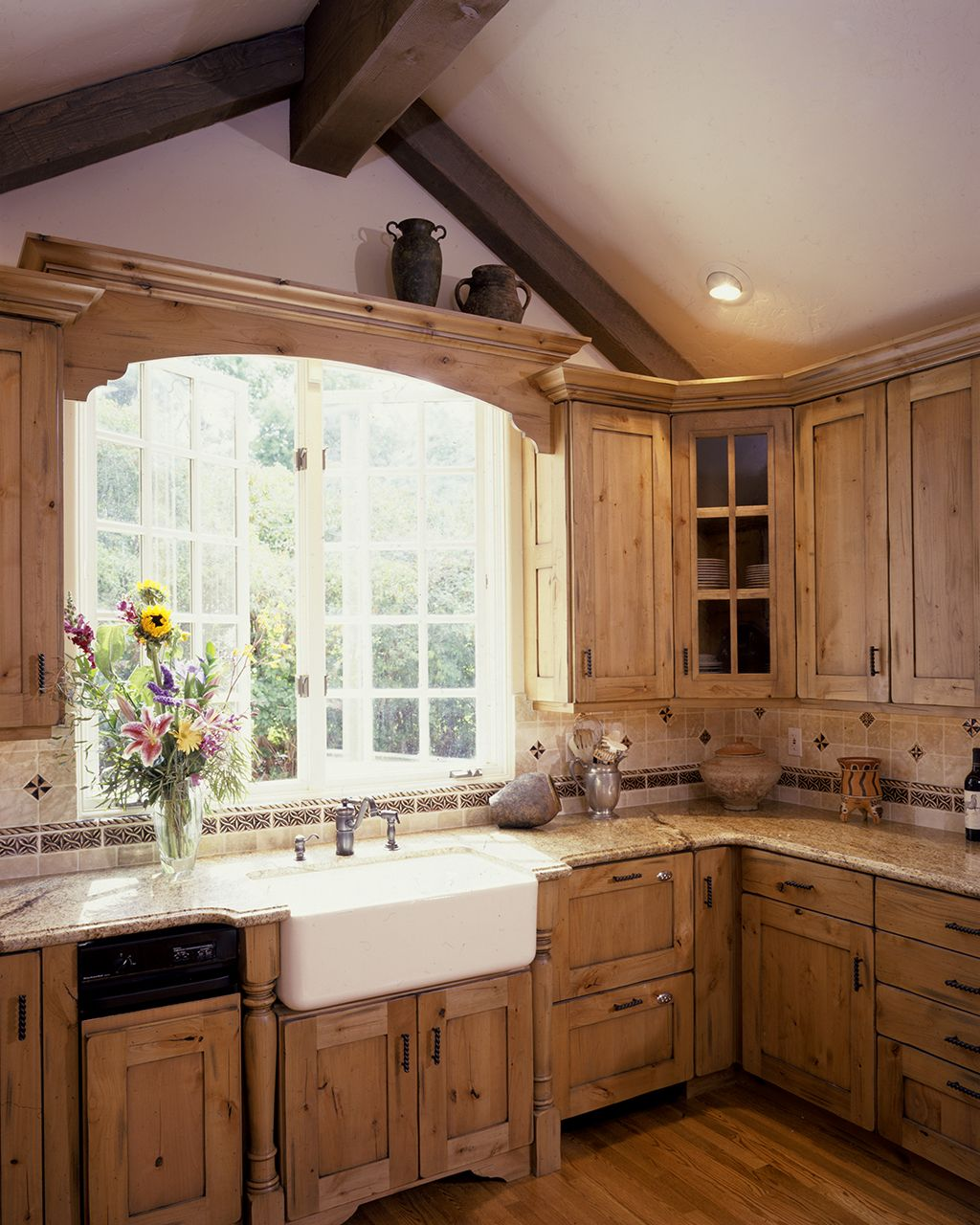 country kitchen ideas Bright Country Kitchen in the Suburbs