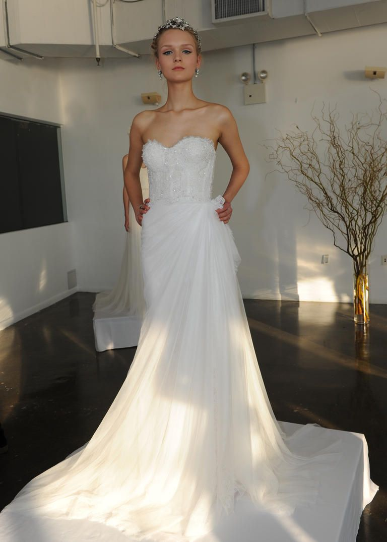 marchesa wedding dresses See Marchesa s Elegant Glam Wedding Dresses for