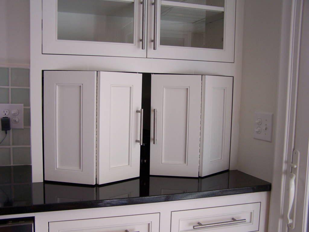 kitchen cabinet doors kitchen cabinet doors recycle bifold doors doors appliance lift double wide tambour doors tambour door tambour Kitchen Cabinet