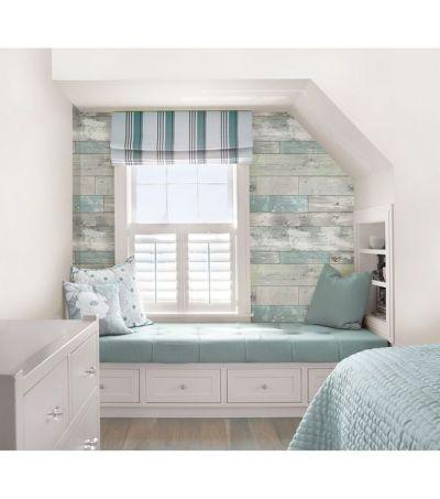WallPops NuWallpaper Beachwood Peel And Stick Wallpaper - Home Decor & Holiday - Home Decor ...